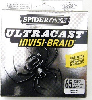 Spiderwire Invisi-braid Translucent 125 yards