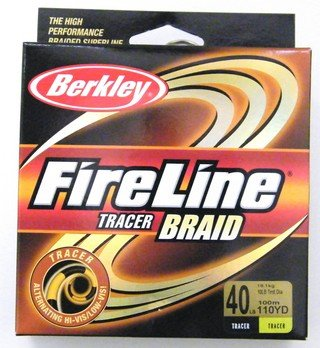 Berkley FireLine Tracer Braid 110 yards