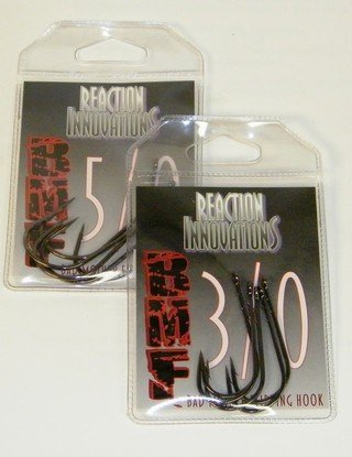 Reaction Innovations Big Mother Flippin Hooks  5 pack