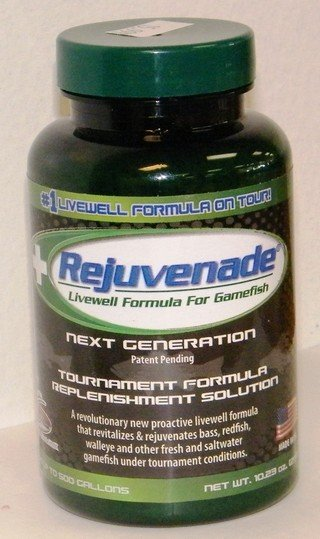 REJUVENADE livewell Formula for gamefish  10.23 oz.jar