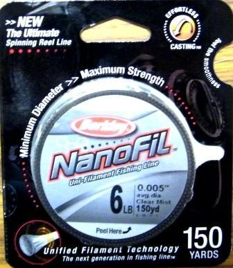 Berkley NanoFil --Uni-Filament Fishing Line